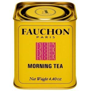 FAUCHON(フォション) モーニング 125gリーフ 缶入り 紅茶 ミルクティー フランス パリ|ange-yokohama