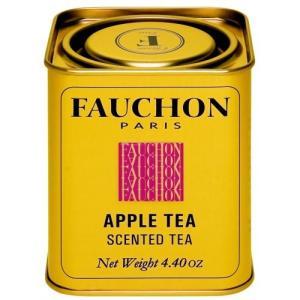 FAUCHON(フォション) アップル 125gリーフ 缶入り 紅茶 フレーバー フランス パリ|ange-yokohama