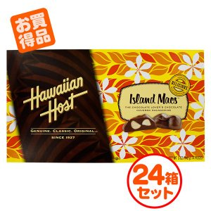 送料無料 ハワイアンホースト マカデミアナッツチョコレート ティアラ アイランドマックス 5oz 142g×24個セット|ange-yokohama