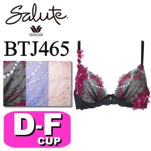 ワコール/wacoal サルート/salute BTJ465(65シリーズ) VIVA LINE 3/4カップブラジャー DEFカップ|angeikoma