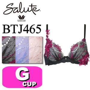 ワコール/wacoal サルート/salute BTJ465(65シリーズ) VIVA LINE 3/4カップブラジャー Gカップ|angeikoma