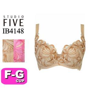 ワコール/wacoal スタディオファイブ/STUDIO FIVE IB4148 48シリーズ 3/4カップブラジャー FGカップ|angeikoma