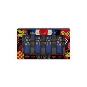 ディズニーパーク お土産 美しいディズニー ミニーマウスカラーミニリップスティックメイクセット|angel-1948