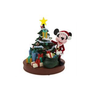 アメリカディズニーパーク  ディズニー ミディアムフィギュア レトロサンタミッキーマウスツリー Big-F5591|angel-1948