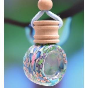 アロマ レディース/香水フレグランス花柄香が続くアロマストラップ|angela-web