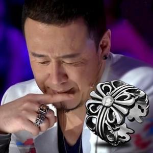 指輪 メンズ ステンレス クロムハーツ風 指輪 クロス十字架モチーフリング 幅広 送料無料 アレルギー|angela-web