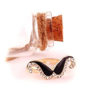 指輪レディース/ひげリング ビジューリング 指輪|angela-web