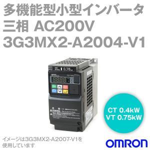 取寄 オムロン(OMRON) 3G3MX2-A2004-V1 多機能型小型インバータ (定格電圧:三相 AC200V) (最大適用モータ容量:CT 0.4kW、VT 0.75kW) NN|angelhamshopjapan