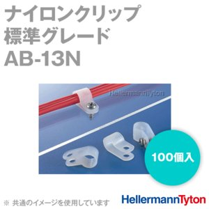 取寄 ヘラマンタイトン AB-13N ナイロンクリップ (100個入) (66ナイロン製) (標準グレード) (乳白色) SN angelhamshopjapan
