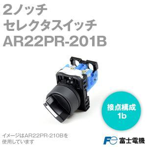 富士電機 AR22PR-201B セレクタスイッチ (2ノッチ) (1b) (黒) NN|angelhamshopjapan