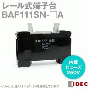 IDEC (アイデック/和泉電機) BAF111SN-□A レール式端子台 ヒューズ/ネオン付 BAシリーズ NN|angelhamshopjapan