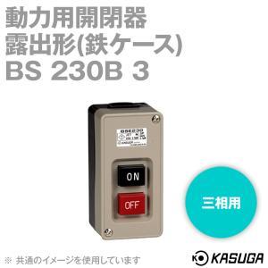 パトライト(旧春日電機) BS230B3 動力用開閉器 露出形 鉄ケース 3P(三相用) NN|angelhamshopjapan