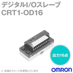 オムロン(OMRON) CRT1-OD16 デジタルI/Oスレーブ ねじ式端子台タイプ2段端子台 (16点Tr出力ユニット) (NPN対応) NN|angelhamshopjapan