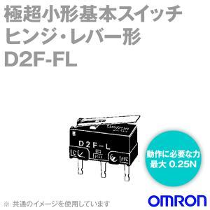取寄  オムロン(OMRON) D2F-FL 形D2F極超小形基本スイッチ (ヒンジ・レバー形)  NN|angelhamshopjapan