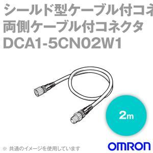オムロン(OMRON) DCA1-5CN02W1 シールド型ケーブル付コネクタ (両側ケーブル付コネクタ) (2m) NN|angelhamshopjapan