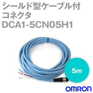 オムロン(OMRON) DCA1-5CN05H1 シールド型ケーブル付コネクタ (片側ケーブル付プラグ) (5m) NN angelhamshopjapan