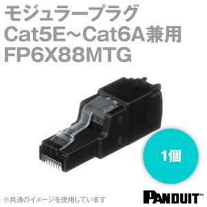 取寄 パンドウィット FP6X88MTG カテゴリ5E~カテゴリ6A兼用 UTP用RJ45 モジュラープラグ NN|angelhamshopjapan