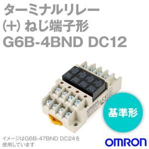 取寄 オムロン(OMRON) G6B-4BND DC12 (ターミナルリレー) NN