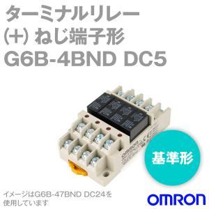 取寄 オムロン(OMRON) G6B-4BND DC5 (ターミナルリレー) NN