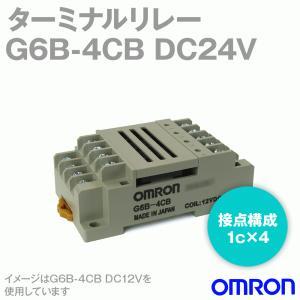 オムロン(OMRON) G6B-4CB DC24 (ターミナルリレー) NN