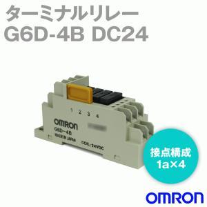 オムロン(OMRON) G6D-4B DC24 (ターミナルリレー) NN