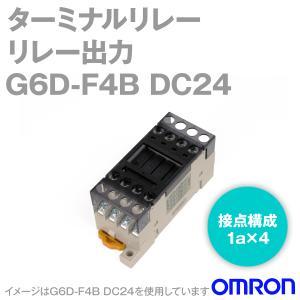 オムロン(OMRON) G6D-F4B DC24 (ターミナルリレー) NN