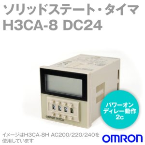 オムロン(OMRON) H3CA-8 DC24 (ソリッドステート・タイマ)  NN angelhamshopjapan
