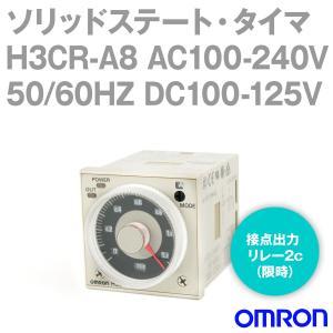 オムロン(OMRON) H3CR-A8 AC100-240V 50/60HZ DC100-125V (ソリッドステート・タイマ)  NN angelhamshopjapan