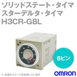 オムロン(OMRON) H3CR-G8L ソリッドステート・タイマ スターデルタ・タイマ (瞬時接点なし) (8ピン) (標準端子配置) (アナログタイマ) NN angelhamshopjapan