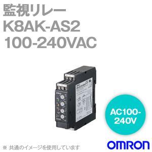 取寄 オムロン(OMRON) K8AK-AS2 100-240VAC 監視リレー (AC100-240V)NN|angelhamshopjapan