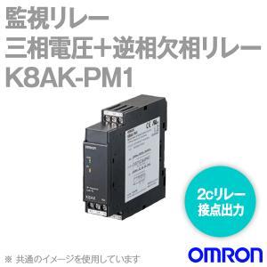 取寄 オムロン(OMRON)  K8AK-PM1 監視リレー (三相電圧+逆相欠相リレー)  NN|angelhamshopjapan