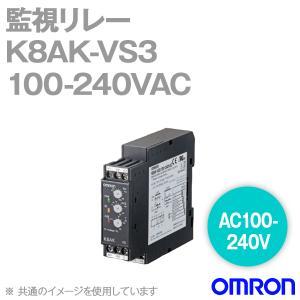 取寄 オムロン(OMRON) K8AK-VS3 100-240VAC 監視リレー (AC100-240V)  単相電圧リレー  NN|angelhamshopjapan