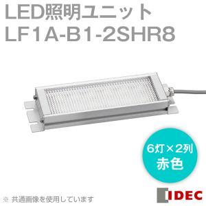 取寄 IDEC (アイデック/和泉電機)  LF1A-B1-2SHR8  LF1A シリーズ LED照明ユニット (6灯×2列・赤色) NN|angelhamshopjapan