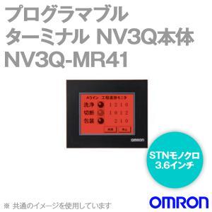 取寄 オムロン(OMRON) NV3Q-MR41 NV3Q本体 STNモノクロ3.6インチ RS-422A/485 LED3色(白/ピンク/赤) NN|angelhamshopjapan