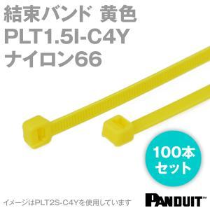 取寄 ナイロン66 結束バンド PLT1.5I-C4Y (黄) (100本入) パンドウイット NN|angelhamshopjapan