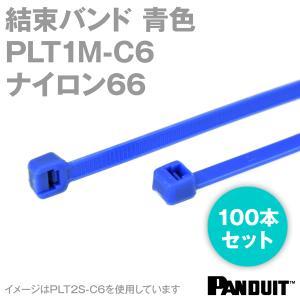 取寄 ナイロン66 結束バンド PLT1M-C6 (青) (100本入) パンドウイット NN|angelhamshopjapan