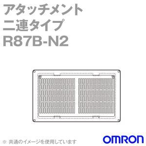 取寄 オムロン(OMRON) R87B-N2 AC軸流ファン アタッチメント 2連タイプ (フィルタ/フィンガーガード/取りつけねじ) NN|angelhamshopjapan