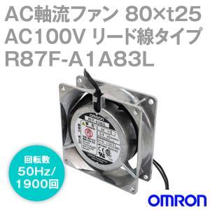 取寄 オムロン(OMRON) R87F-A1A83L AC軸流ファン 100V (80×t25 リード線タイプ) (回転数 50Hz 1900回) NN|angelhamshopjapan