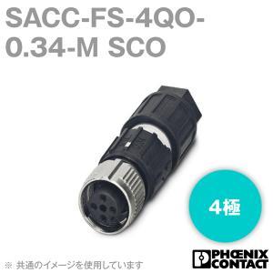 フェニックスコンタクト 丸型防水コネクタ SACC-FS-4QO-0.34-M SCO 4極 NN|angelhamshopjapan