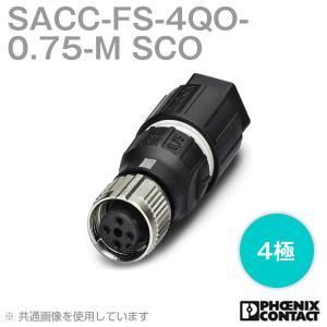 取寄  フェニックスコンタクト 丸型防水コネクタ SACC-FS-4QO-0.75-M SCO 4極 NN|angelhamshopjapan