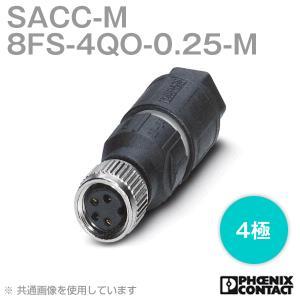 取寄  フェニックスコンタクト 丸型防水コネクタ SACC-M 8FS-4QO-0.25-M 4極 NN|angelhamshopjapan