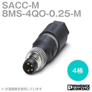 取寄  フェニックスコンタクト 丸型防水コネクタ SACC-M 8MS-4QO-0.25-M 4極 NN|angelhamshopjapan