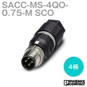 取寄  フェニックスコンタクト 丸型防水コネクタ SACC-MS-4QO-0.75-M SCO 4極 NN|angelhamshopjapan