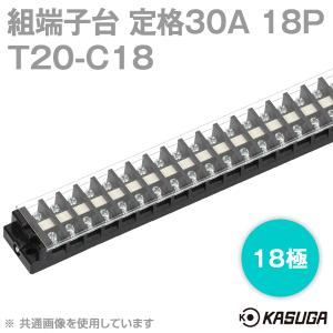 取寄 パトライト(旧春日電機) 組端子台 T20-C18 セルフアップ 18極 SN|angelhamshopjapan