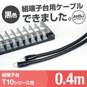 T10用 黒色 0.4m 端子台接続ケーブル (KIV 5.5sq 丸型圧着端子 5.5−S4) TV|angelhamshopjapan