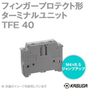 取寄 パトライト(旧春日電機) TFE40 マルチレール式端子台 ターミナルユニット (フィンガープロテクト端子台) (アース端子台) (DINレール) (5.5mm2) (20P入) SN|angelhamshopjapan