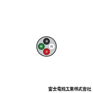 富士電線工業 VCT 14sq×4芯 600V耐圧ケーブル (14mm 4C 4心) (電線切売 1m〜) NN|angelhamshopjapan|02