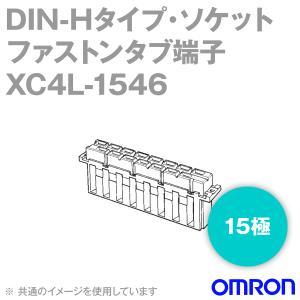 取寄 オムロン(OMRON) XC4L-1546 形XC4L DIN-Hタイプ・ソケット DINコネクタ 中・大電流用 ファストンタブ端子 15極 NN angelhamshopjapan