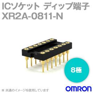 取寄 オムロン(OMRON) XR2A-0811-N 形XR2A オープンフレームタイプ ディップ端子 8極 (金メッキ0.25μm) (60個入) NN|angelhamshopjapan