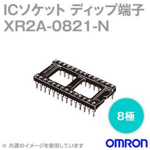 取寄 オムロン(OMRON) XR2A-0821-N 形XR2A オープンフレームタイプ ディップ端子 8極 (金フラッシュメッキ) (60個入) NN|angelhamshopjapan